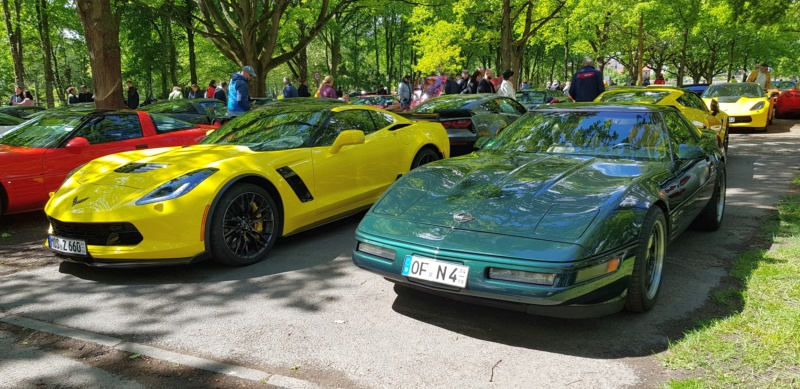 16. Corvette Sunday der Corvettenfreunde Kurpfalz in Ladenburg 5.5.2019 20190556