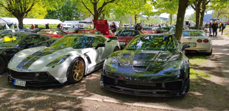 16. Corvette Sunday der Corvettenfreunde Kurpfalz in Ladenburg 5.5.2019 20190565
