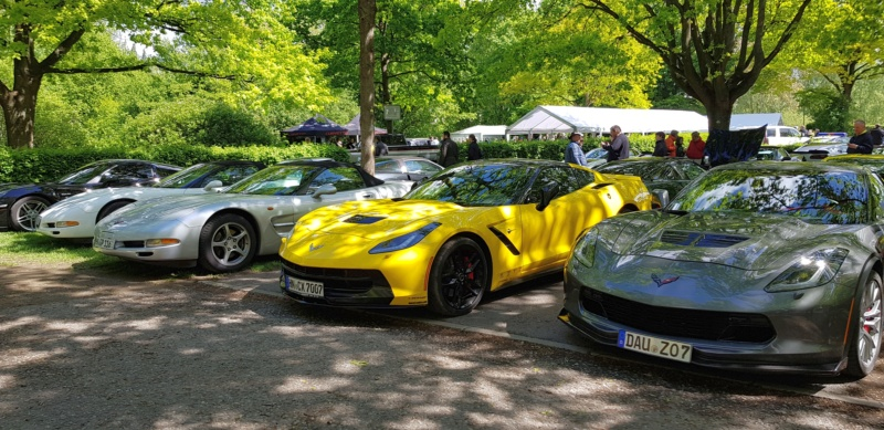 16. Corvette Sunday der Corvettenfreunde Kurpfalz in Ladenburg 5.5.2019 20190567