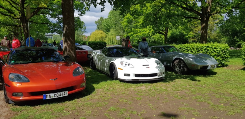 16. Corvette Sunday der Corvettenfreunde Kurpfalz in Ladenburg 5.5.2019 20190568