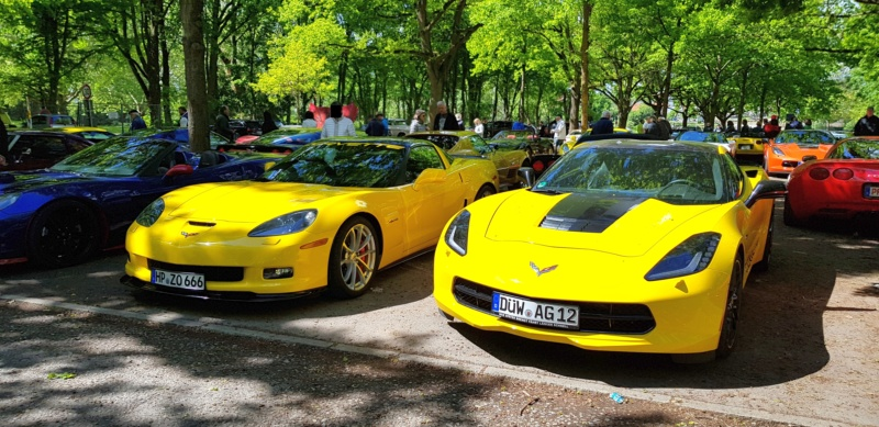 16. Corvette Sunday der Corvettenfreunde Kurpfalz in Ladenburg 5.5.2019 20190569