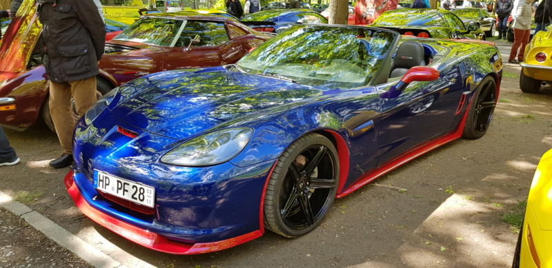 16. Corvette Sunday der Corvettenfreunde Kurpfalz in Ladenburg 5.5.2019 20190570