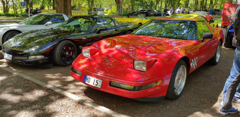 16. Corvette Sunday der Corvettenfreunde Kurpfalz in Ladenburg 5.5.2019 20190573