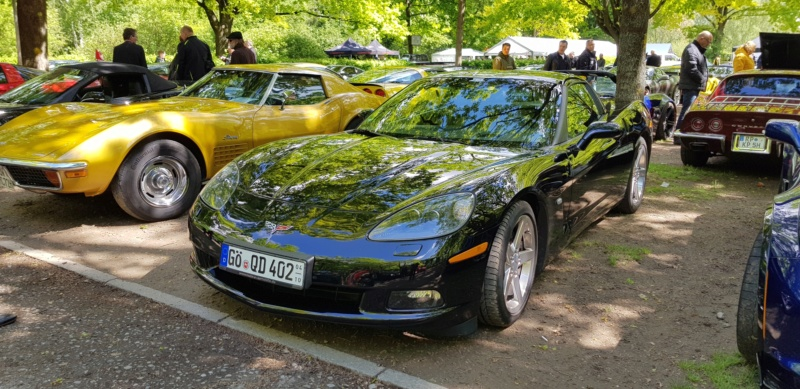 16. Corvette Sunday der Corvettenfreunde Kurpfalz in Ladenburg 5.5.2019 20190575