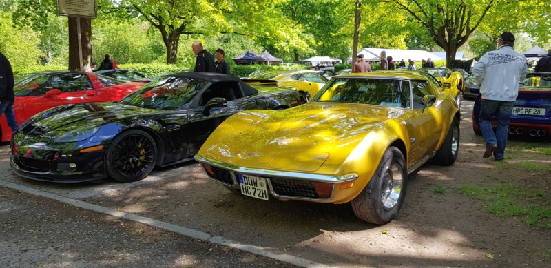 16. Corvette Sunday der Corvettenfreunde Kurpfalz in Ladenburg 5.5.2019 20190576