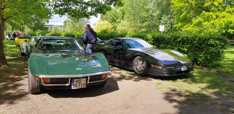 16. Corvette Sunday der Corvettenfreunde Kurpfalz in Ladenburg 5.5.2019 20190579