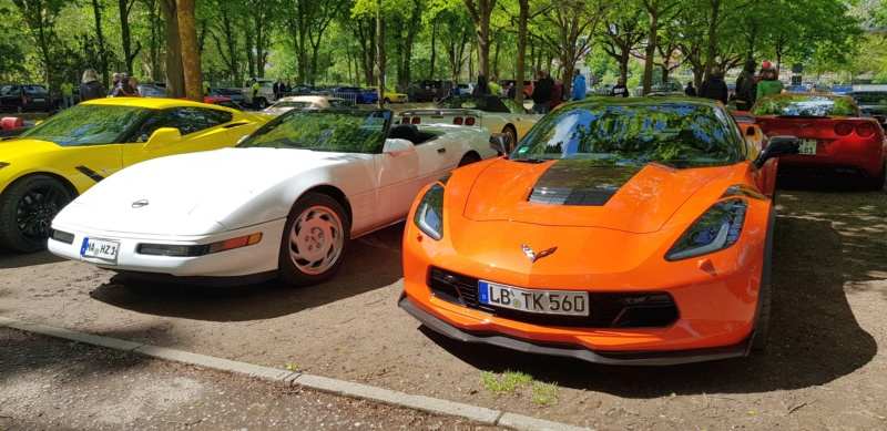 16. Corvette Sunday der Corvettenfreunde Kurpfalz in Ladenburg 5.5.2019 20190580