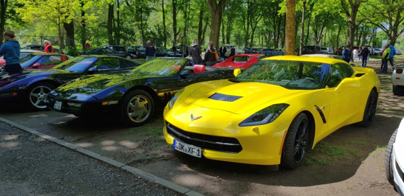 16. Corvette Sunday der Corvettenfreunde Kurpfalz in Ladenburg 5.5.2019 20190581