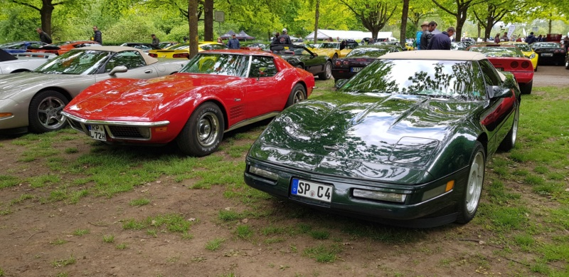 16. Corvette Sunday der Corvettenfreunde Kurpfalz in Ladenburg 5.5.2019 20190588