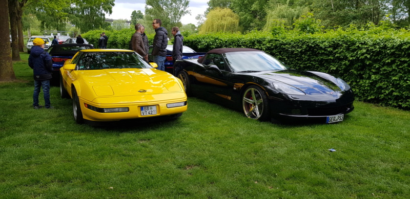 16. Corvette Sunday der Corvettenfreunde Kurpfalz in Ladenburg 5.5.2019 20190593
