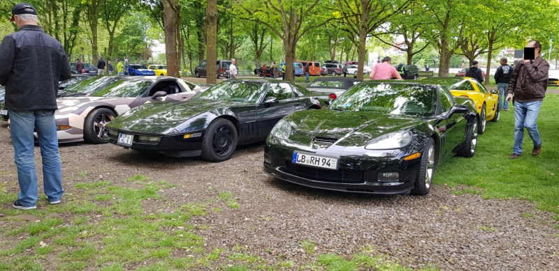 16. Corvette Sunday der Corvettenfreunde Kurpfalz in Ladenburg 5.5.2019 20190594