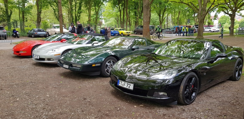 16. Corvette Sunday der Corvettenfreunde Kurpfalz in Ladenburg 5.5.2019 20190596
