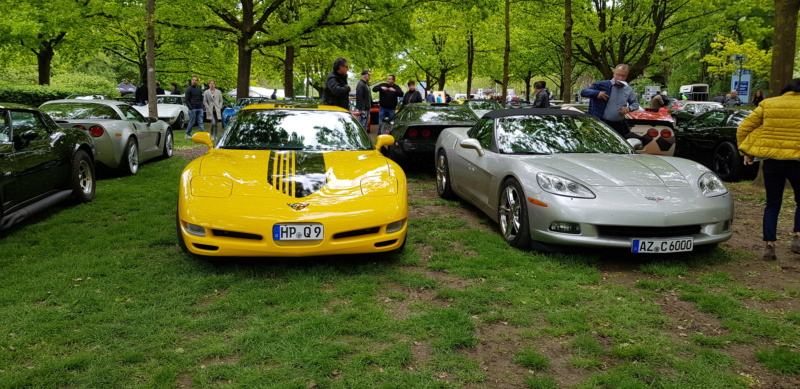 16. Corvette Sunday der Corvettenfreunde Kurpfalz in Ladenburg 5.5.2019 20190598