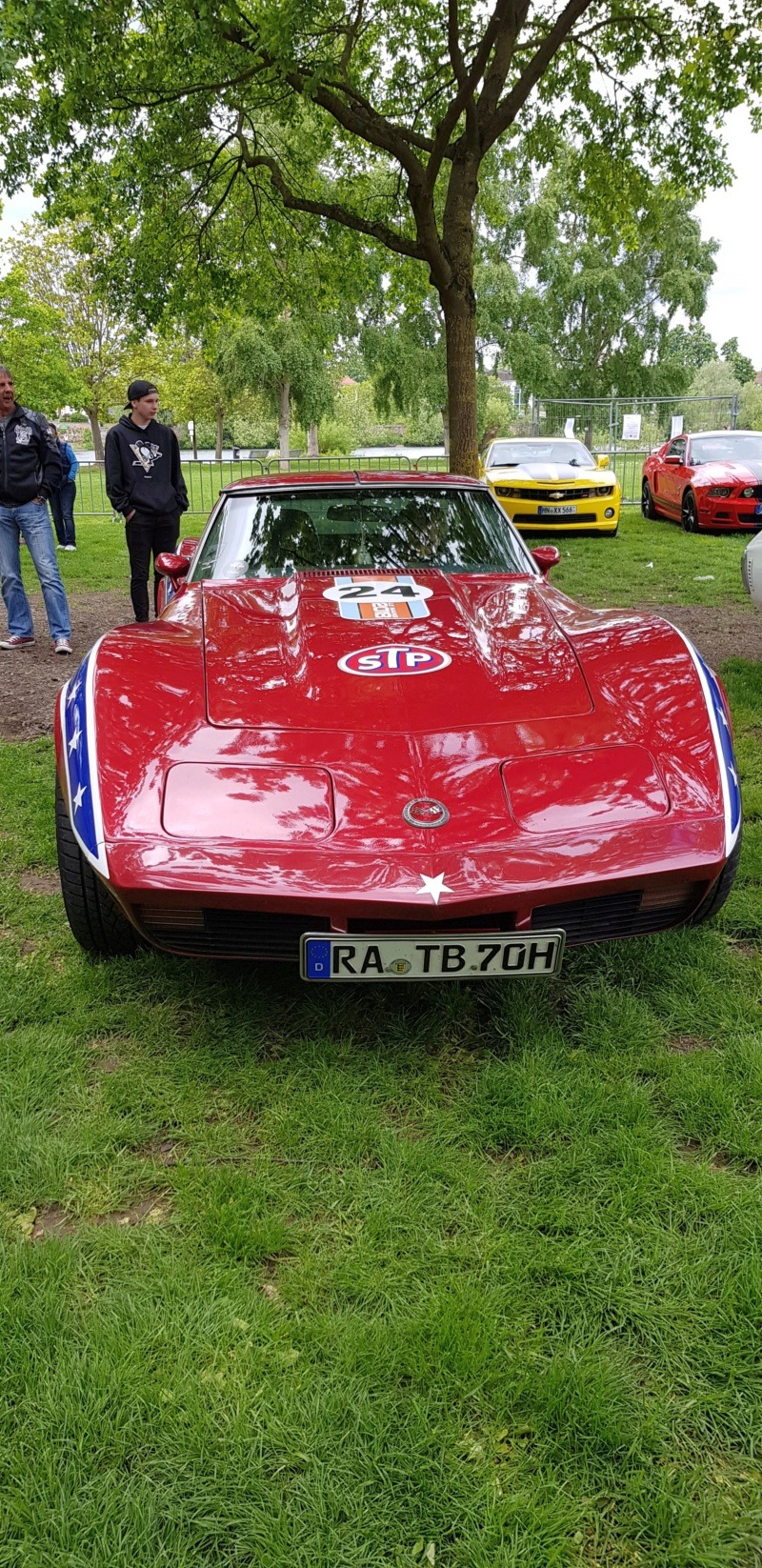 16. Corvette Sunday der Corvettenfreunde Kurpfalz in Ladenburg 5.5.2019 20190599