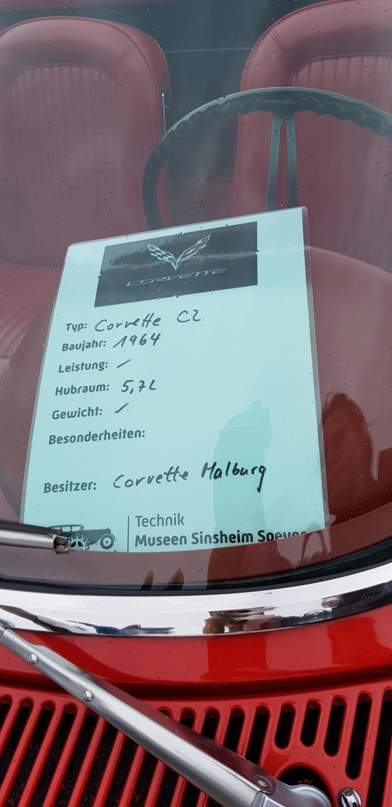 Corvette & Friends 14.7.2019 im Technikmuseum Speyer 20191050