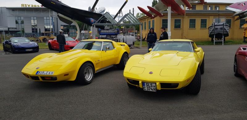 Corvette & Friends 14.7.2019 im Technikmuseum Speyer 20191073