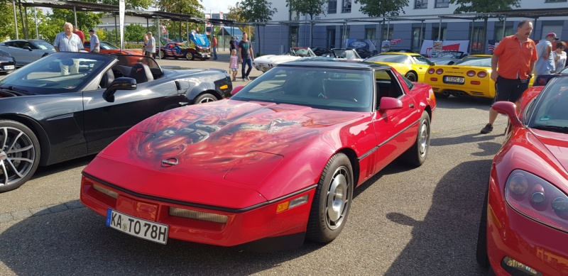 16. Corvettentreffen des Corvette Club Rhein-Neckar in St. Leon-Rot 1.9.2019 20191567