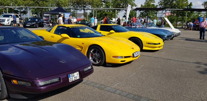 16. Corvettentreffen des Corvette Club Rhein-Neckar in St. Leon-Rot 1.9.2019 20191574