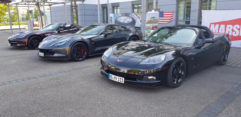 16. Corvettentreffen des Corvette Club Rhein-Neckar in St. Leon-Rot 1.9.2019 20191581