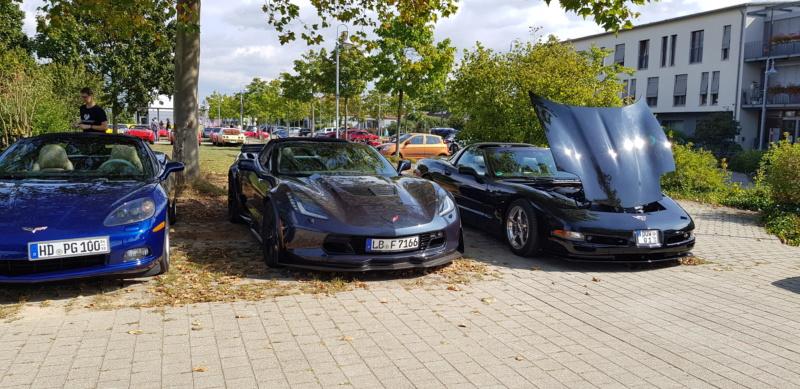 16. Corvettentreffen des Corvette Club Rhein-Neckar in St. Leon-Rot 1.9.2019 20191596