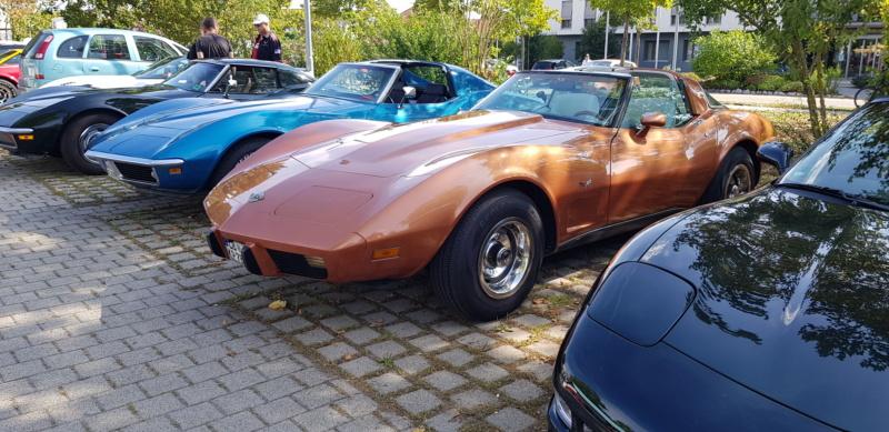 16. Corvettentreffen des Corvette Club Rhein-Neckar in St. Leon-Rot 1.9.2019 20191601