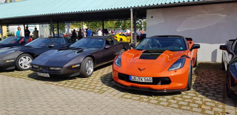 16. Corvettentreffen des Corvette Club Rhein-Neckar in St. Leon-Rot 1.9.2019 20191605