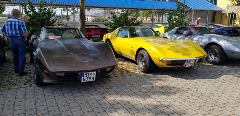 16. Corvettentreffen des Corvette Club Rhein-Neckar in St. Leon-Rot 1.9.2019 20191611
