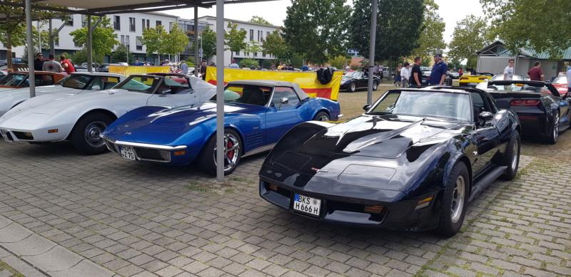 16. Corvettentreffen des Corvette Club Rhein-Neckar in St. Leon-Rot 1.9.2019 20191623