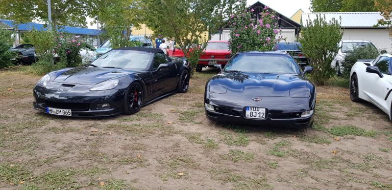 16. Corvettentreffen des Corvette Club Rhein-Neckar in St. Leon-Rot 1.9.2019 20191642