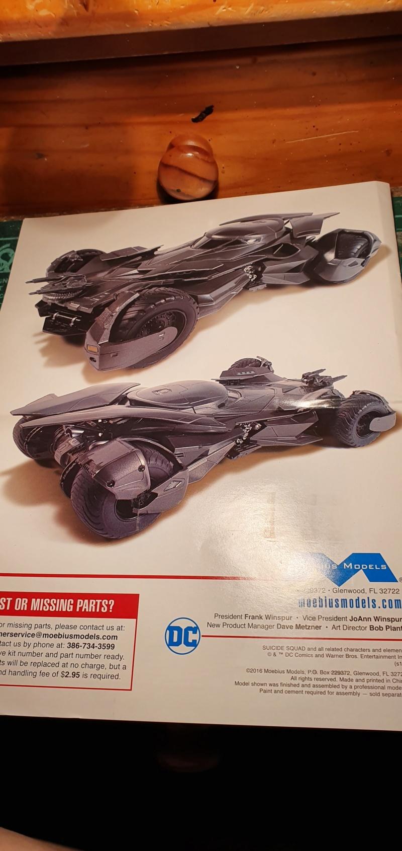 Batmobil aus Suicide Squad / Möbius, 1:25 20192466