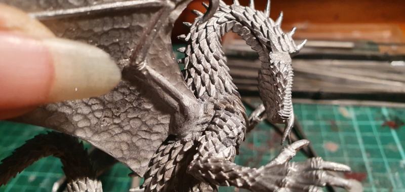 Gigantic Green Dragon von Thunderbold Mountain Miniatures 20200561
