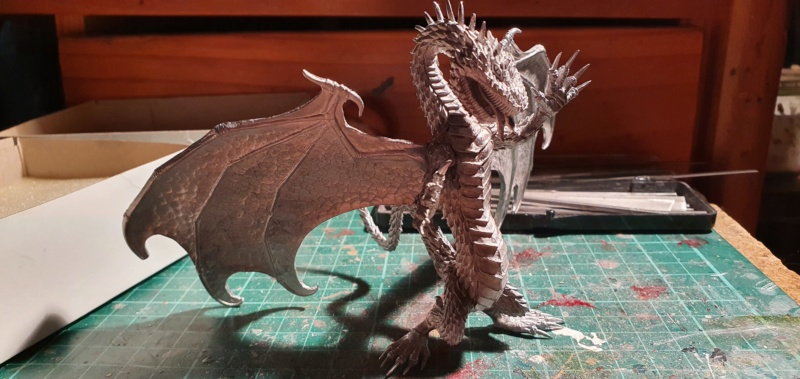 Gigantic Green Dragon von Thunderbold Mountain Miniatures 20200643