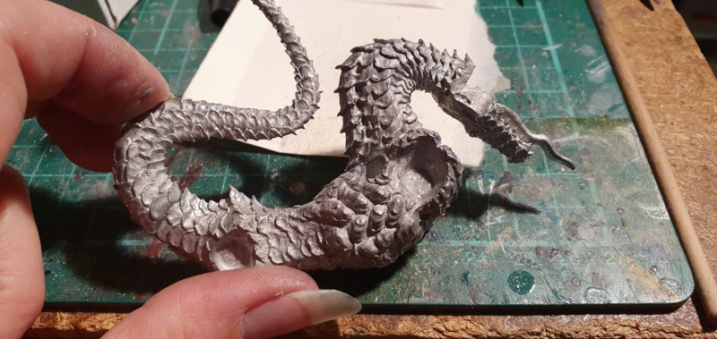 Gargantuan Gold Dragon von Thunderbold Mountain Miniatures 20200653