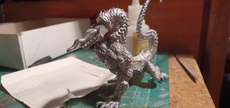 Gargantuan Gold Dragon von Thunderbold Mountain Miniatures 20200655