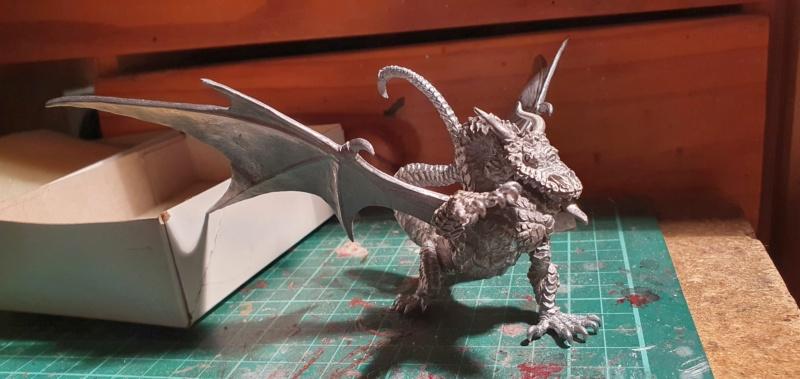 Gargantuan Gold Dragon von Thunderbold Mountain Miniatures 20200658