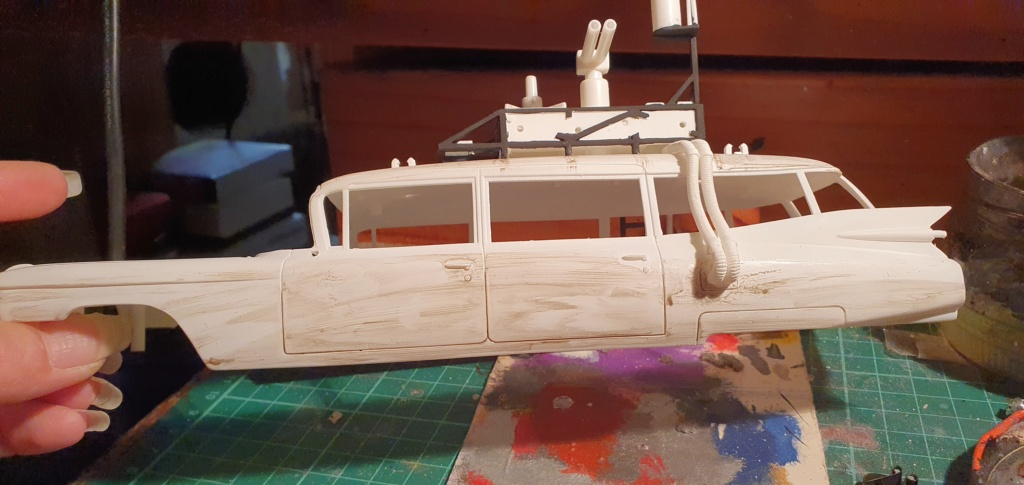 Ghostbusters Ecto 1 / Polar Lights, 1:25 20201226