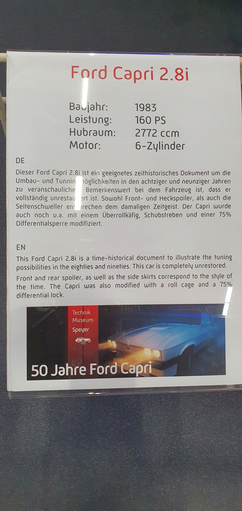 Sonderausstellung Teil 2 im Technikmuseum Speyer 20201961