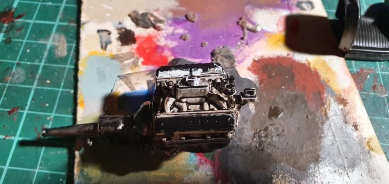Elvira´s Macabre Mobil-1958er Ford T-Bird Convertible Coupé Monogramm 1:24 20202561
