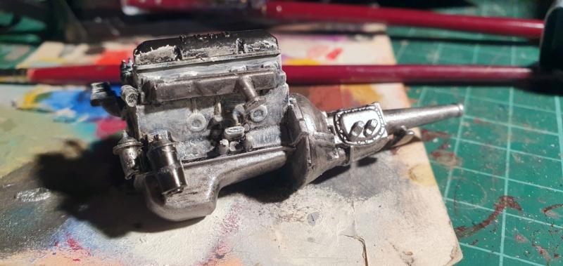 Elvira´s Macabre Mobil-1958er Ford T-Bird Convertible Coupé Monogramm 1:24 20202568