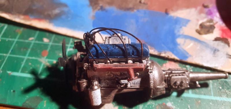 Elvira´s Macabre Mobil-1958er Ford T-Bird Convertible Coupé Monogramm 1:24 20202634