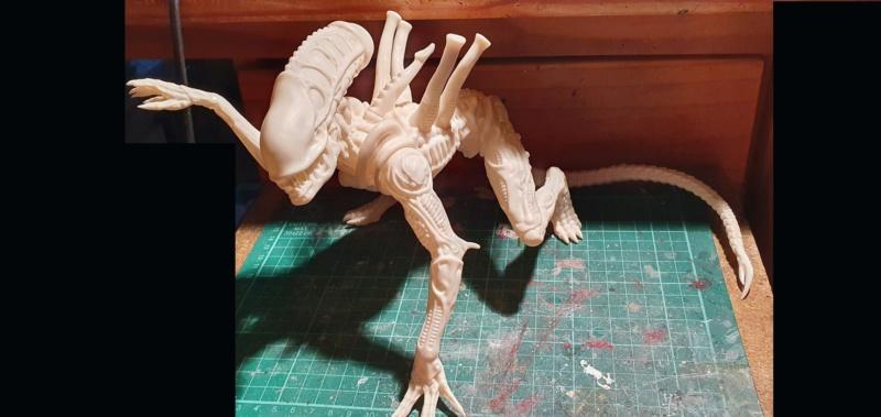 Alien aus dem Game Alien vs Predator von 2010, 1:6 Elfin Models 20210372