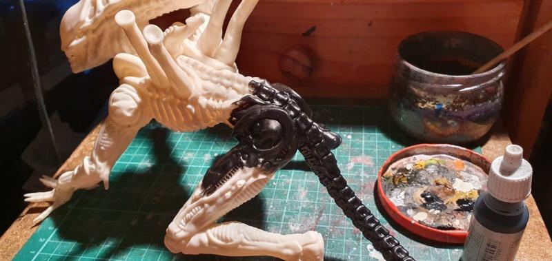 Alien aus dem Game Alien vs Predator von 2010, 1:6 Elfin Models 20210374