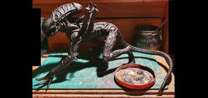 Alien aus dem Game Alien vs Predator von 2010, 1:6 Elfin Models 20210376