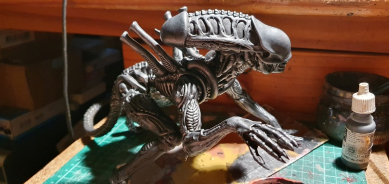 Alien aus dem Game Alien vs Predator von 2010, 1:6 Elfin Models 20210379