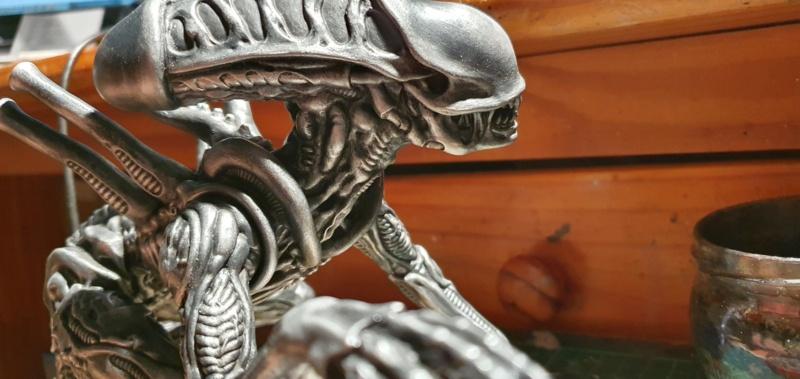 Alien aus dem Game Alien vs Predator von 2010, 1:6 Elfin Models 20210395
