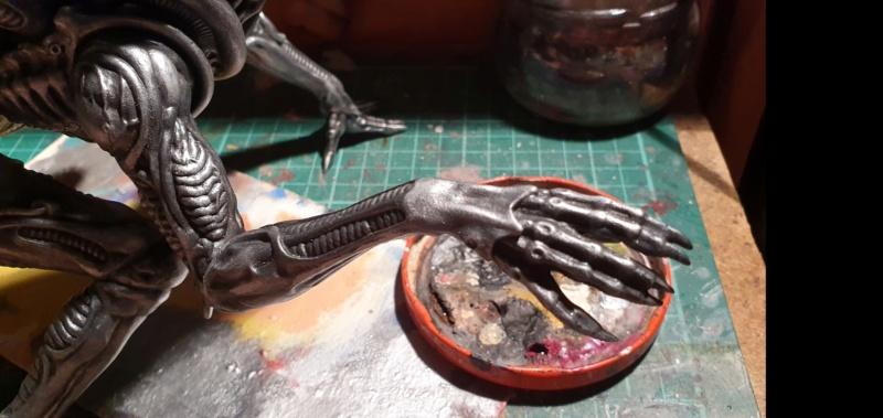 Alien aus dem Game Alien vs Predator von 2010, 1:6 Elfin Models 20210396