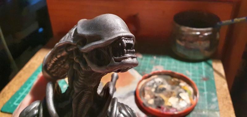 Alien aus dem Game Alien vs Predator von 2010, 1:6 Elfin Models 20210400
