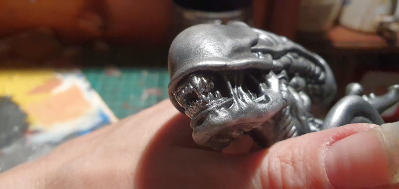 Alien aus dem Game Alien vs Predator von 2010, 1:6 Elfin Models 20210402