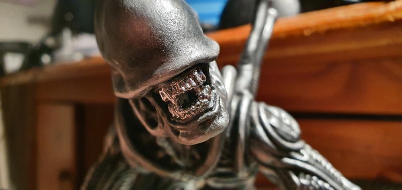 Alien aus dem Game Alien vs Predator von 2010, 1:6 Elfin Models 20210404