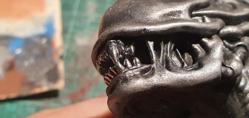 Alien aus dem Game Alien vs Predator von 2010, 1:6 Elfin Models 20210408